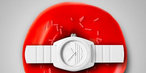 Red, Alarm device, Circle, Fire alarm system, Illustration,