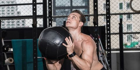 Barechested, Physical fitness, Muscle, Arm, Leg, Shoulder, Pain, Chest, Sport venue, Strength athletics,