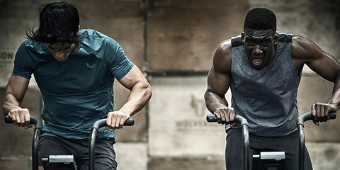 Cycling, Vehicle, Physical fitness, Muscle, Shoulder, Human, Arm, Recreation, Bicycle, Bodybuilding,