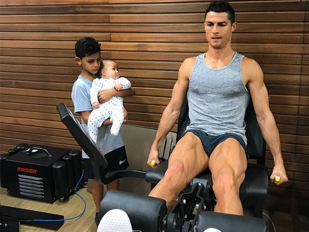How Cristiano Ronaldo Tackles His Leg Day For Lean Muscle