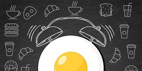 Fried egg, Egg, Yellow, Egg yolk, Dish, Font, Circle, Illustration, Food,
