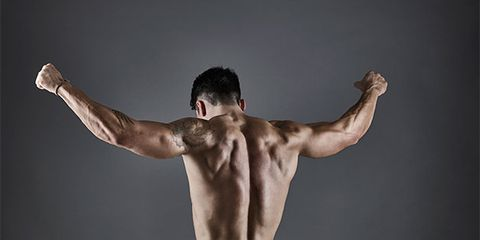 Shoulder, Barechested, Muscle, Arm, Abdomen, Joint, Physical fitness, Standing, Bodybuilder, Chest,