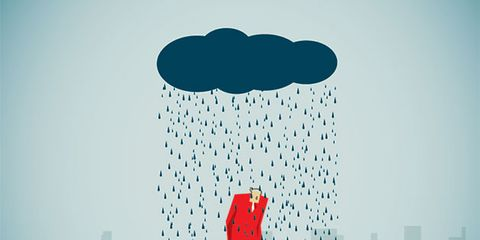 Water, Illustration, Blue, Art, Sky, Cloud, Tree, Font, Graphic design, Rain,