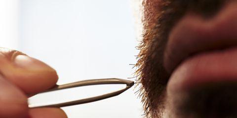Facial hair, Hair, Face, Eyebrow, Eyewear, Beard, Ear, Nose, Skin, Eyelash,