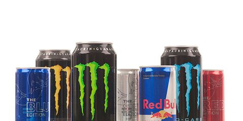 Drink, Energy drink, Product, Beverage can, Sports drink, Energy shot, Bottle, Soft drink, Non-alcoholic beverage,