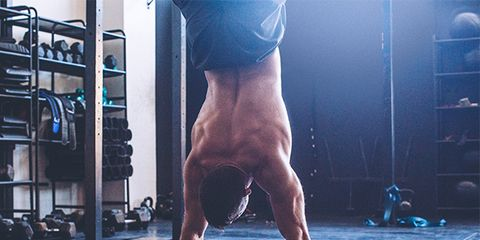 Barechested, Leg, Human leg, Standing, Physical fitness, Arm, Muscle, Snapshot, Shoulder, Calisthenics,