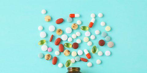 pill vitamin pot