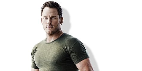 T-shirt, Clothing, Neck, Sleeve, Standing, Arm, Shoulder, Top, Muscle, Human,
