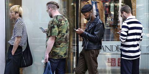 Street fashion, Snapshot, Fashion, Standing, Jeans, Footwear, Shoe, Mannequin, Street, Photography,