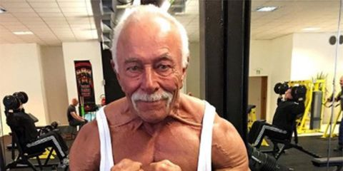 Old Man Bodybuilding Images