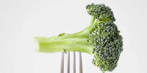 Broccoli, Vegetable, Cruciferous vegetables, Leaf vegetable, Food, Produce, Celery, Plant, Fork, Cauliflower,