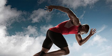 Jumping, Sky, Athletic dance move, Cloud, Running, Flip (acrobatic), Physical fitness, Leg, Muscle, Sportswear,