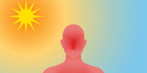 Pink, Joint, Shoulder, Sky, Meditation, Physical fitness, Neck, Yoga, Colorfulness, Illustration,