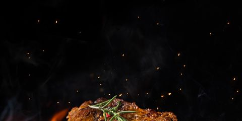 Barbecue, Grilling, Barbecue grill, Rib eye steak, Steak, Cuisine, Dish, Food, Grillades, Cooking,