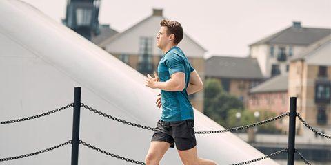 Running, Recreation, Jogging, Footwear, Shoe, Individual sports, Exercise, Leg, Sportswear, Knee,