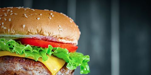 Food, Hamburger, Fast food, Dish, Junk food, Original chicken sandwich, Cuisine, Veggie burger, Cheeseburger, Patty,