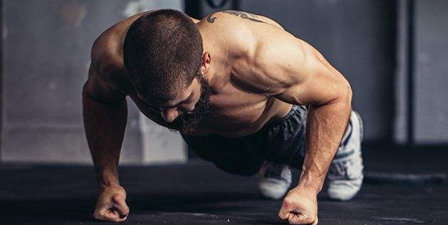 This Ladder Workout Scorches Through Fat Using Just Your Bodyweight