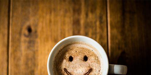 Babycino, Coffee cup, Cup, Coffee, Caffeine, Cup, Smile, Drink, Caffè macchiato, Latte,