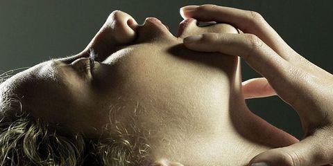 Skin, Lip, Neck, Beauty, Head, Hand, Human, Close-up, Mouth, Human body,
