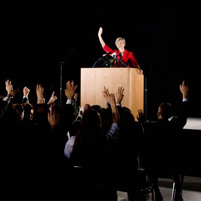 Public speaking, Microphone, Podium, Stage, Lectern, Speech, Orator, Stage equipment, Audience, Public address system,