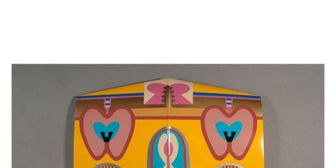 Art, Pattern, Teal, Symbol, Visual arts, Symmetry, Creative arts, Illustration, Painting,