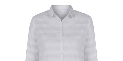 Clothing, Product, Sleeve, Collar, Textile, Outerwear, White, Fashion, Pattern, Button,