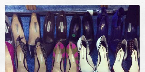 Footwear, Purple, Fashion, Dancing shoe, Lavender, Teal, Basic pump, Collection, Fashion design, Sandal,