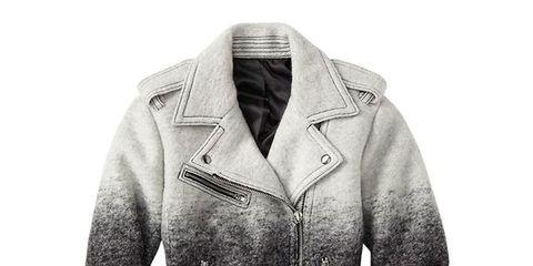 Clothing, Collar, Sleeve, Textile, Outerwear, Jacket, White, Coat, Style, Pattern,