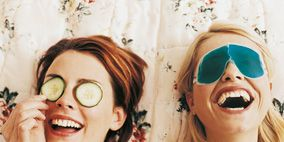 Clothing, Eyewear, Nose, Vision care, Mouth, Smile, Fun, Hairstyle, Happy, Facial expression,