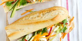 Sandwich, Food, Cuisine, Finger food, Ingredient, Baked goods, Vegetable, Dish, Fast food, Snack,