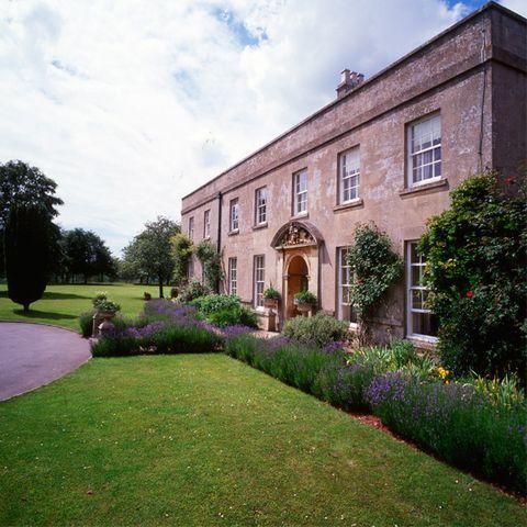 Plant, Property, Garden, Shrub, Building, House, Real estate, Land lot, Lawn, Door,