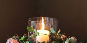 Bouquet, Petal, Flower, Candle, Cut flowers, Flower Arranging, Floristry, Wax, Floral design, Garden roses,