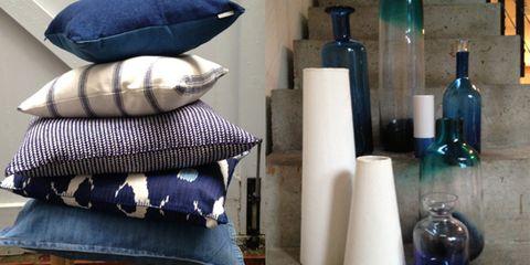 Blue, Purple, Wine bottle, Bottle, Glass bottle, Drinkware, Cobalt blue, Violet, Home accessories, Electric blue,