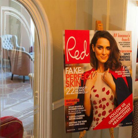 Advertising, Brown hair, Hair coloring, Banner, Model, Hair care, Long hair, Magazine, Fashion model, Publication,