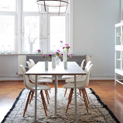 Room, Floor, Wood, Interior design, Flooring, Table, White, Furniture, Glass, Fixture,
