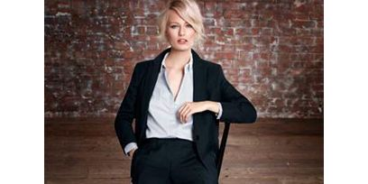 Clothing, Brown, Sleeve, Shoulder, Collar, Joint, Outerwear, Style, Sitting, Blazer,