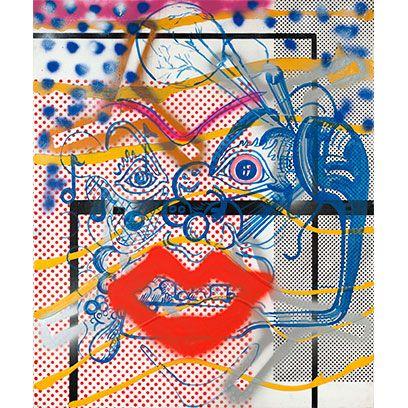 Blue, Colorfulness, Yellow, Pattern, Orange, Majorelle blue, Art, Electric blue, Modern art, Visual arts,