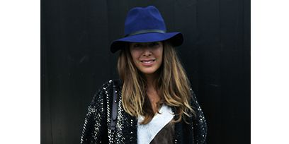 Clothing, Hat, Sleeve, Human body, Textile, Outerwear, Collar, Style, Fashion accessory, Sun hat,