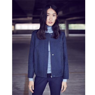 Clothing, Collar, Sleeve, Trousers, Human body, Shoulder, Textile, Outerwear, Standing, Coat,