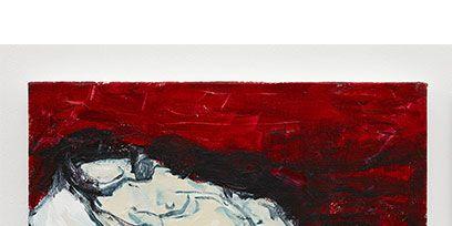Paint, Carmine, Art, Art paint, Artwork, Painting, Visual arts, Modern art, Watercolor paint, Illustration,