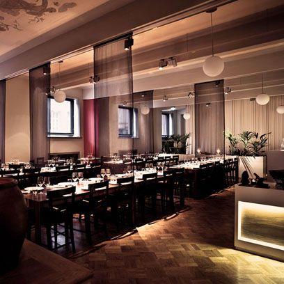 Lighting, Interior design, Ceiling, Room, Interior design, Light fixture, Restaurant, Houseplant, Hall, Ceiling fixture,