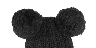 Textile, Toy, Wool, Stuffed toy, Pattern, Black, Grey, Woolen, Creative arts, Livestock,