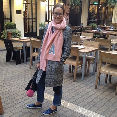 Outerwear, Furniture, Table, Style, Flowerpot, Bag, Street fashion, Fashion accessory, Houseplant, Luggage and bags,