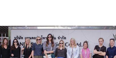 Leg, People, Product, Social group, Dress, Photograph, Community, Street fashion, Fashion, Pattern,