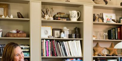 Shelf, Shelving, Furniture, Table, Drinkware, Bookcase, Publication, Collection, Desk, Office equipment,