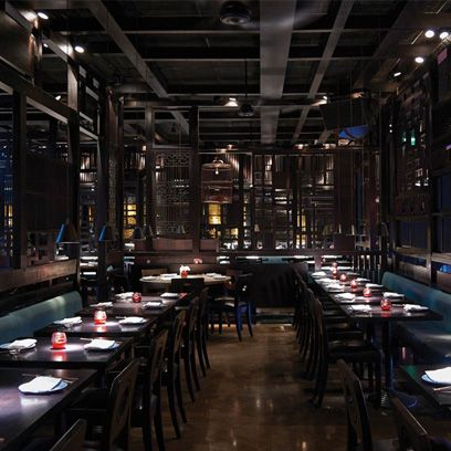 Interior design, Glass, Furniture, Ceiling, Beam, Restaurant, Hall, Cafeteria, Diner,