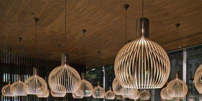 Light fixture, Interior design, Lighting accessory, Ceiling, Ceiling fixture, Interior design, Collection, Decoration,