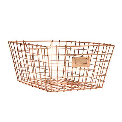 Basket, Storage basket, Wicker, Home accessories, Beige, Mesh, Bicycle basket, Building material, Cage,