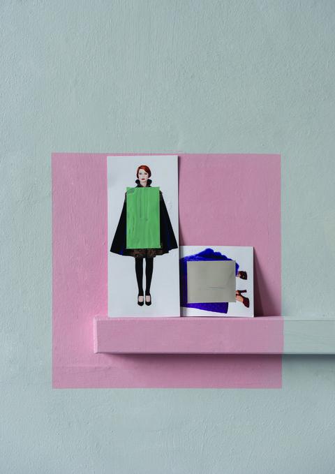 Sleeve, Pink, Magenta, Purple, Pattern, Violet, Lavender, Rectangle, Paper product, Paper,