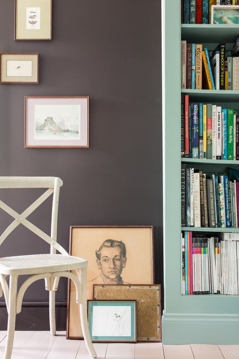 Shelf, Room, Bookcase, Shelving, Wall, Publication, Picture frame, Collection, Book, Library,